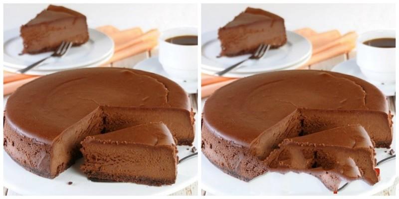 Čokoládový dort bez vaření, bez pečení, který válcuje internet recept