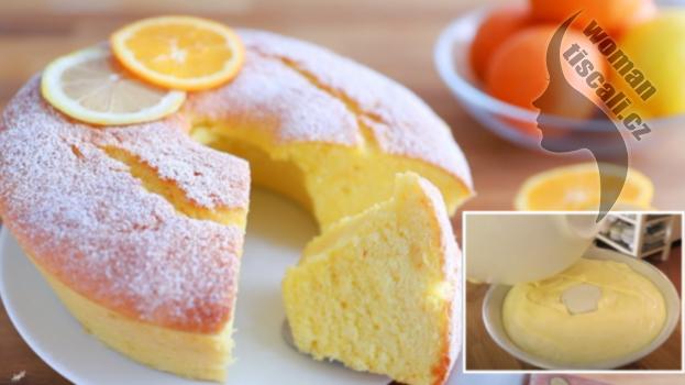 Citronově-jogurtová bábovka jako dech: Ještě nikdy jsem nejedla tak vláčnou a výbornou bábovku !