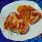 Pizzovníky z kynutého těsta v netradičním tvaru